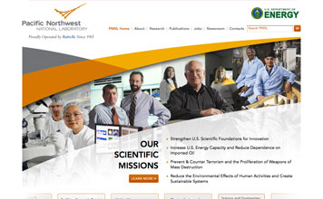 Pacific Northwest National Laboratory screenshot